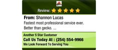 Fastest most professional service ever. Better than gecko.