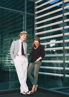 Oslo's Jefferson Mays & Jennifer Ehle on Who Would Make a Better Spy and What They'll Be Doing in Their 80s