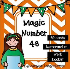 Magic Number 48 is a Mathematics activity which practices the use of the four basic operations (addition, subtraction, multiplication and division) as well as Order of operations.