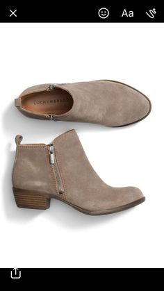 I like this height for a heeled boot; I have these same boots they go great with any color and so comfy