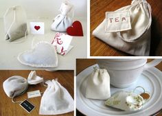 Haz tus bolsitas de té reutilizables.Os presentamos una manualidad que no sólo es útil sino también ¡una manera original de regalar el té! http://www.iloveteacompany.com/2012/10/haz-tus-bolsitas-de-te-reusables-diy.html