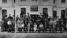 The entire police department of El Paso, Texas in 1946.