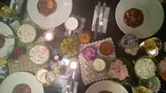 Happylobster: Ehkä paras joulu ikinä! Table Settings, Place Settings, Tablescapes