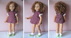 Кукла оч.тяжелая, 63 см, оригинал, шагает, вес 1086 г. Донецк, СССР, 70-е. Редкая! Не использовалась
