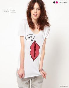 #fashion #neronera #tshirt #woman http://www.neronera.com/info/graphic-design/store/no