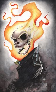 Ghost Rider by Chris Uminga