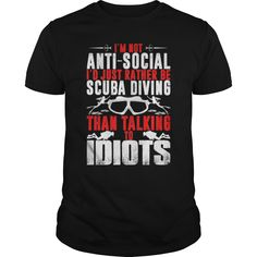 Cool Scuba Diving Tee Shirts