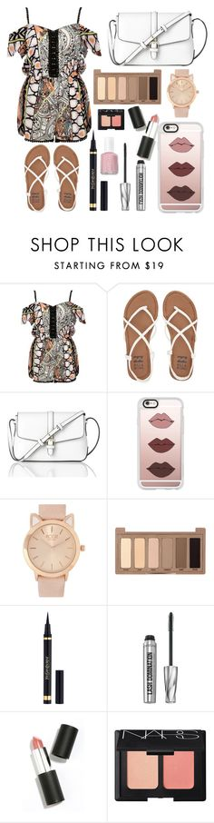 """Untitled #92"" by aly267 on Polyvore featuring River Island, Billabong, L.K.Bennett, Casetify, Urban Decay, Yves Saint Laurent, Bare Escentuals, Sigma Beauty, NARS Cosmetics and Essie"