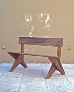 Ernesto Gallardo Modernist  Bench | From a unique collection of antique and modern benches at http://www.1stdibs.com/furniture/seating/benches/