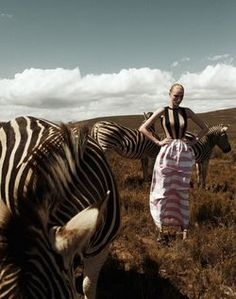 Zebras - the striped originals. Lotte Tuinstra for Die Presse August 2011 by Sabine Liewald Fashion Photography Inspiration, Editorial Photography, Fashion Shoot, Editorial Fashion, Carrousel, Safari Theme, Animal Fashion, Art Design, Graphic