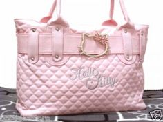 Hello Kitty pink tote bag handbag purse