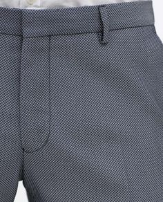 Image 5 of SUIT TROUSERS from Zara