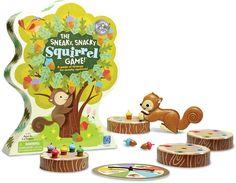 Helaas is er voor dit mooie product nog geen juiste omschrijving toegevoegd.  Wij doen ons uiterste best zo spoedig mogelijk voor dit product een omschrijving op te stellen.  Heeft u vragen over dit product ?  Dan kunt u geheel vrijblijvend contact met ons opnemen. Afmeting: 54x328x272 mm - The Sneaky Snacky Squirrel Game Learning Resources