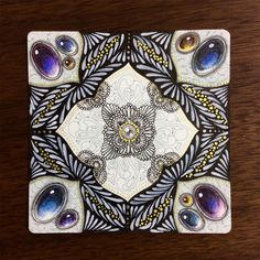Image result for zentangle gems sakura micron