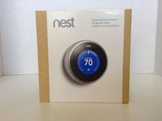 Nest Learning Thermostat T200577 2nd Generation Control From Phone Anywhere Box  | eBay