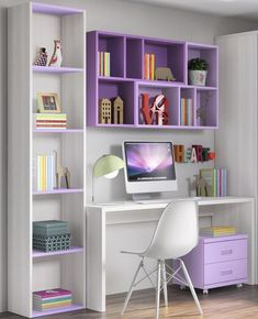 √ Most Popular Study Table Designs and Children's Chairs Today Study Desk Design In The Bedroom Home Room Design, Home Office Design, Home Office Decor, Home Decor, Office Designs, Office Ideas, Study Room Design, Office Table, Bedroom Designs