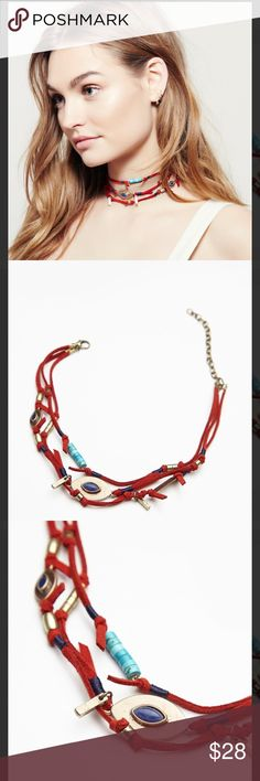 Free People Salty Shores Wrap Choker BNWT Free People Jewelry Necklaces