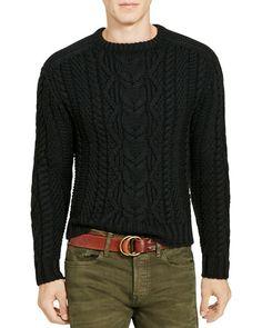 Polo Ralph Lauren Cable Knit Merino Wool Sweater Men - Bloomingdale s. Pull  Torsadé HommesPull ... da66f3e89c5e