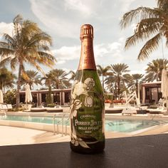 The sparkle of Champagne and the far away echo of celebration and joy. #perrierjouet #designmiami