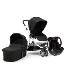 Zoom Trio Package - Black - Travel Systems - Mamas & Papas