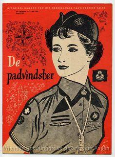 Niederländische Pfadfinderinnen ---- Dutch girlscouts ----- Drents Archief collectie V.I.O.O.L. groep