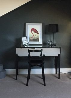 The Mirrored Belle Dressing Table in MADE customer Josie's bedroom. MADE.COM/Unboxed