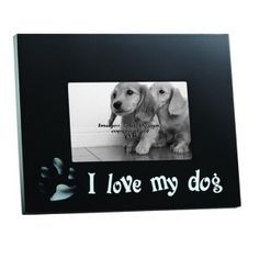 dog picture frame with cut out paw 4x6-9702  http://ourpictureframes.com/Pet_Picture_Frames/dog-picture-frame-with-cut-out-paw-4x6/