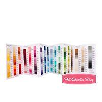 Bella Solids Color Card Moda Fabrics