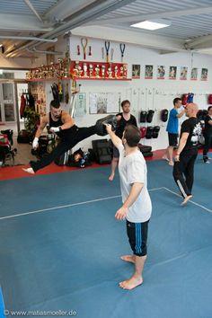 Training with Scott Adkins