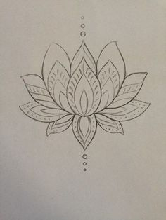Lotus tattoo. Thinking of getting it on my ribs