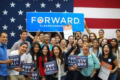 How fired up are these Hialeah voters and Eva Longoria for the start of Early Voting today? Find where to vote here: http://OFA.BO/6eTxrC