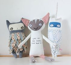Sewing stuffed toys is a fun hobby that enables you to really let your imagination take flight! On this page you'll find many tutorials, free sewing patterns and awesome inspiration to get you started