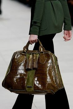 Burberry Prorsum >>> shows better here than in the pictures. handbags leather