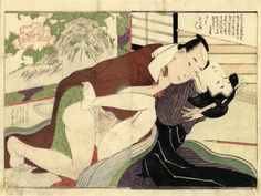 Click IMAGE for more UTAMARO shunga prints !