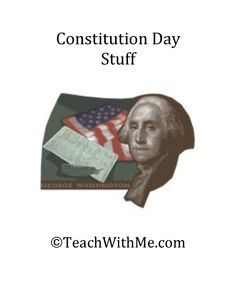 Constitution Day Stuff  -  Pinned by @PediaStaff – Please Visit http://ht.ly/63sNt for all our pediatric therapy pins
