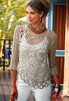 REGINA RECEITAS DE CROCHE E AFINS: Um novo marcador croche veste, roupas em croche.