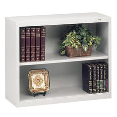 Functional, efficient and stylish, this bookcase has a contemporary smooth front case design with no exposed bolts, allowing it to suit any office environment. Metal Bookcase, Cube Bookcase, Etagere Bookcase, Ladder Bookcase, Home Office Furniture Uk, Business Furniture, Traditional Bookcases, Kitchen Desks, Family Photo Frames
