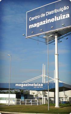 Centro de Distribuição Magazine Luiza (Site Magazine você) - CD 300 em Louveira, SP  Logístiica do Site CD Magazine Luiza Louveira à Rodovia dos Bandeirantes KM 68, 760 - Rio Abaixo - CEP: 13213-902 - Louveira/SP - inscrita no CNPJ sob o nº 47960950/0449-27.