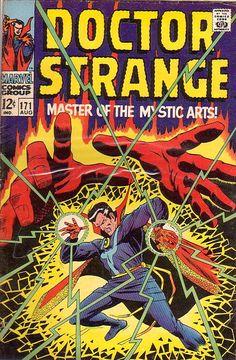 COMIC doctor strange 171 #comic #cover #art
