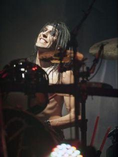 CC Christian Coma drummer of Black Veil Brides