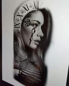 Pecka Wolf Tattoos, Life Tattoos, Body Art Tattoos, New Tattoos, Sleeve Tattoos, Tattoo Studio, Girl Face Drawing, Geniale Tattoos, Photoshop