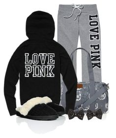 A fashion look from January 2013 featuring slim fit sweat pants and post back earrings. Browse and shop related looks. Lazy Day Outfits, Pink Outfits, Casual Outfits, Cute Outfits, Fashion Outfits, Fashion Hub, Fashion Pics, Swag Outfits, Fashion Killa