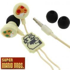 Super Mario Earphones