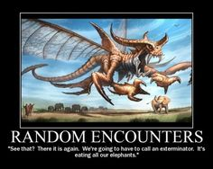 Random Encounters      posted by Marriclay