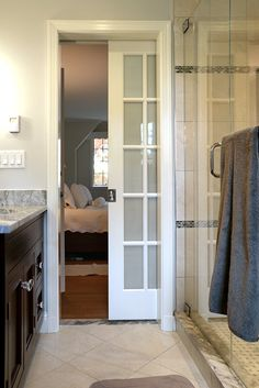 pocket door to separate toilet from rest of bathroom Future