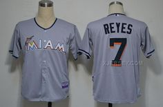http://www.xjersey.com/miami-marlins-7-jose-reyes-grey-2012-jerseys.html MIAMI MARLINS 7 JOSE REYES GREY 2012 JERSEYS Only $34.00 , Free Shipping!