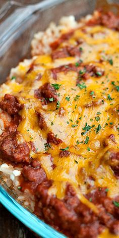Sour Cream Rice Bake