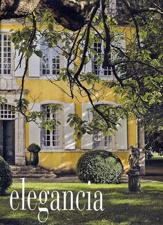 Love the window and manicured hedges although a new colour might be in order depending on location.  Just a thought~!