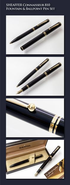 BEGINNERS CALLIGRAPHY FOUNTAIN PEN SET 3 STAINLESS STEEL NIBS BLACK BODY