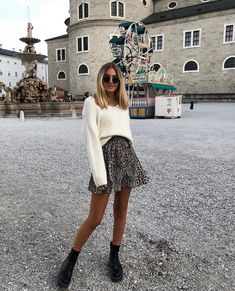 80 Cute Casual Winter Fashion Outfits For Teen Girl Mode Outfits, Fashion Outfits, Womens Fashion, Fashion Trends, Skirt Outfits, Fashion Tips, Fashion Websites, Fashion Quotes, Fashion Styles